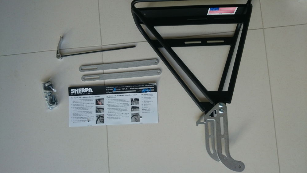 OMM Sherpa rear rack.