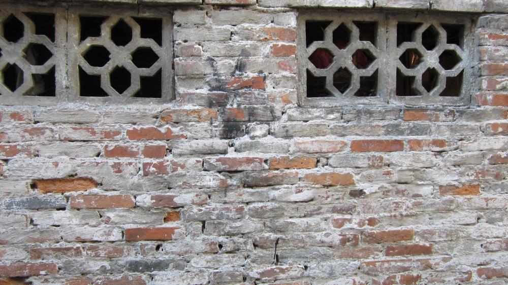 Old school windows for ventilation.